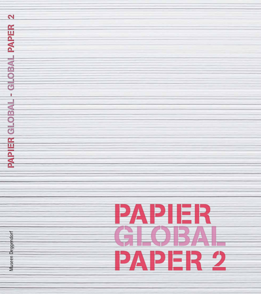 Cover Papier Global 2 Museumskatalog