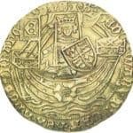 Ein Rosennobel aus dem Jahr 1466-1467