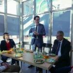 Rede bei der Eröffnung des Inklusionscafe bei der Auftaktveranstaltung im Handwerksmuseum Deggendorf