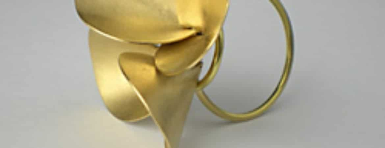 """Ring aus der Finissage """"fingerfood - Ringe von JAC"""" im Handwerksmuseum Deggendorf"""