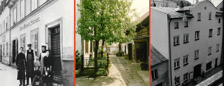 alte Bildern von Deggendorf Handwerkerhaeuser