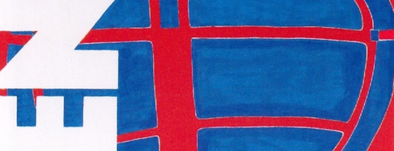 Entwurf einer Festfahne zum Wettbewerb Handwerk & Design im Handwerksmuseum Deggendorf