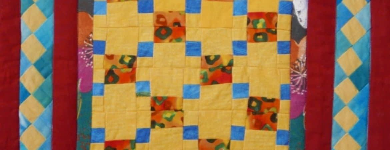 Quilt aus der Führung Handwerkliche Quilts im Handwerksmuseum Deggendorf