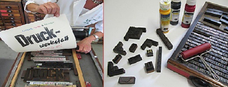 Druckereimaschinen und Druckerzeugnisse