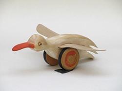 Spiel-Ente aus der Ausstellung