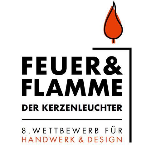 Plakat zum Wettbewerb Feuer und Flamme
