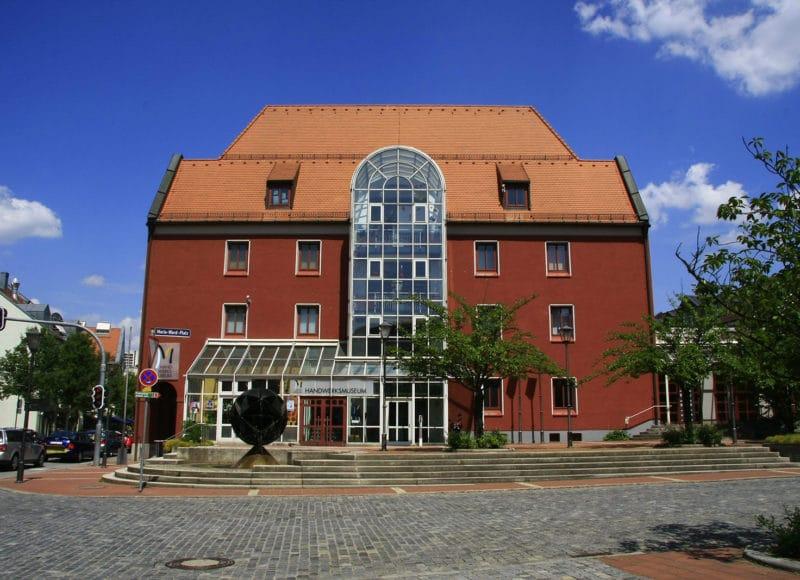 Außenansicht des Handwerksmuseums in Deggendorf