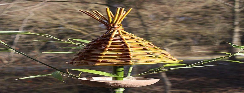 Ein pagodenförmiges Dach