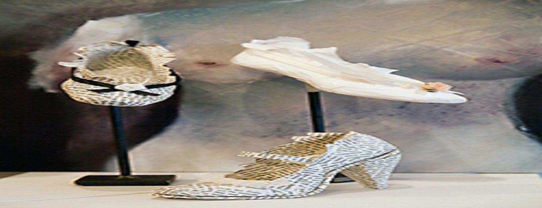 Schuhe aus Papier