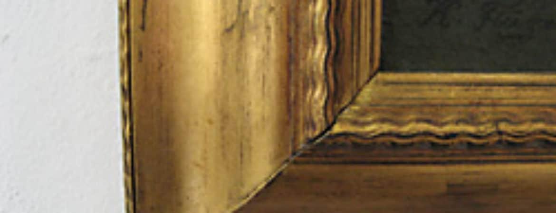 """Exemplar aus dem Workshop """"Vergolden mit Schlagmetallen"""" im Handwerksmuseum Deggendorf"""