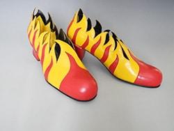 Schuhe aus der Ausstellung
